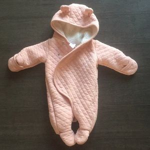 Carters newborn snow suit